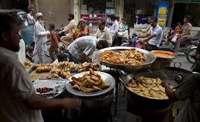 Preparing the Ramzan food specialities