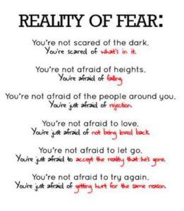 beat fear