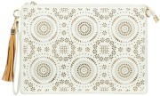 Pressed daisies clutch